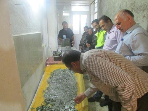 پرورش کرم ابریشم در استان بوشهر